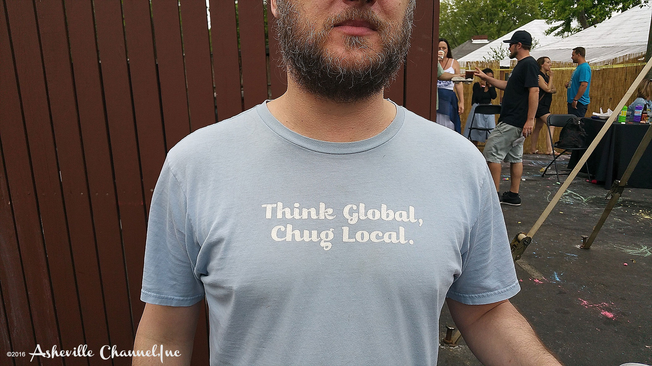 Think Global Drink Local T Shirt